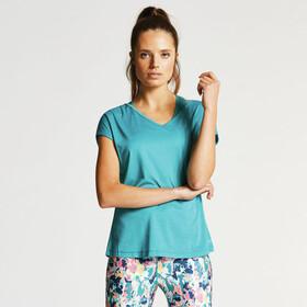 Dare 2b Serrate - T-shirt manches courtes Femme - Bleu pétrole